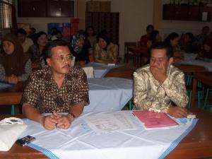 Bpk Patrem Murdiyanto Ketua Komite SMPN 1 Wonosari